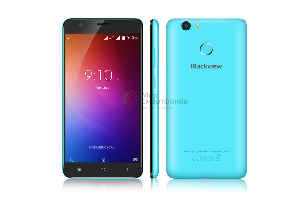 logo Blackview E7