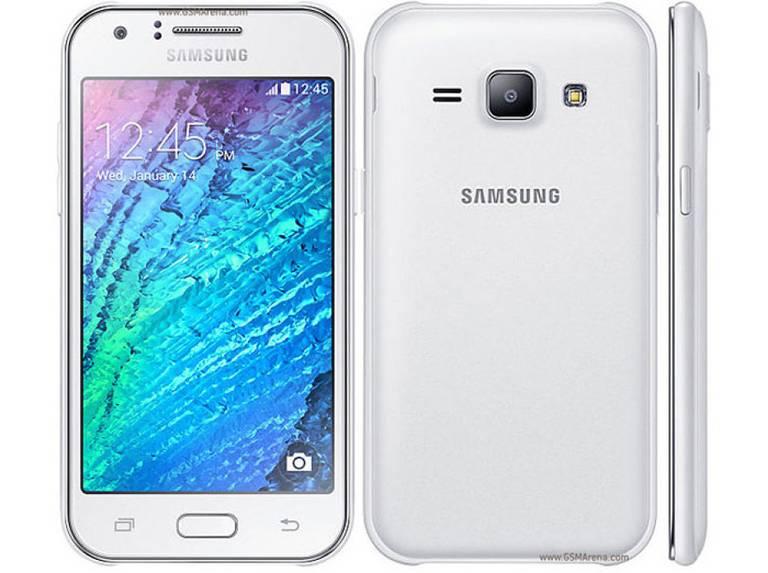 Galaxy J1 screen