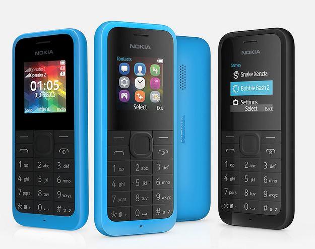 new phone Nokia 105 Dual SIM