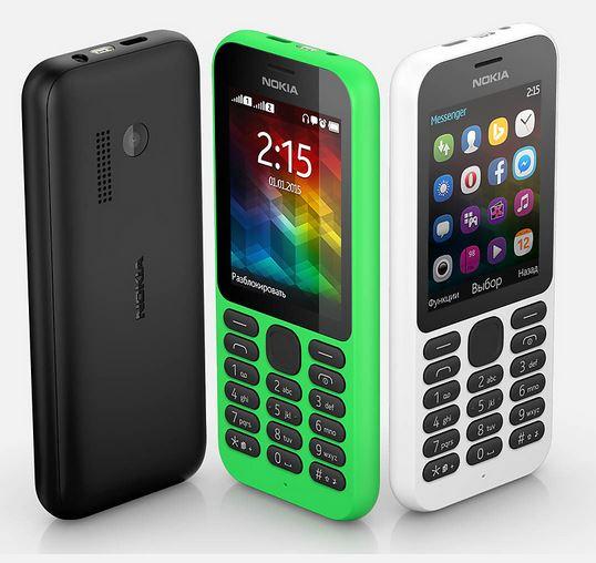 new phone Nokia 215