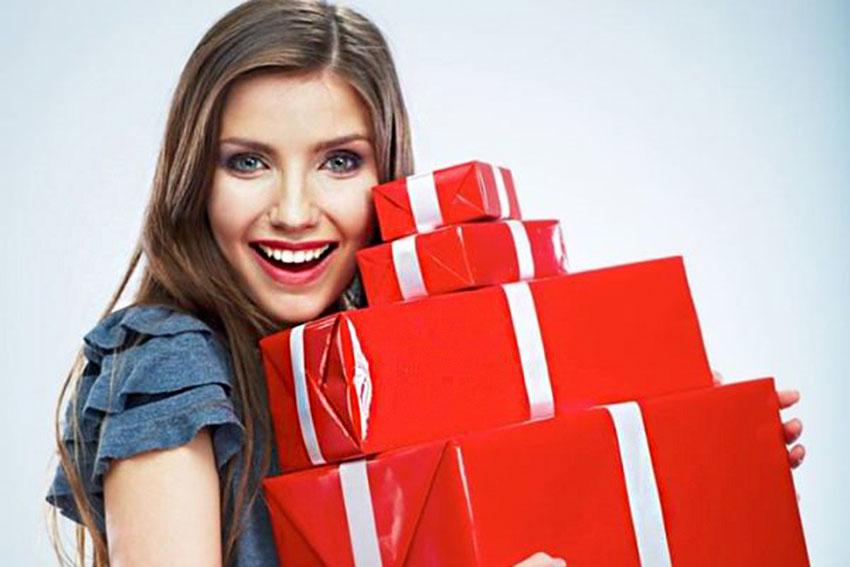 Много подарков для девушек 371