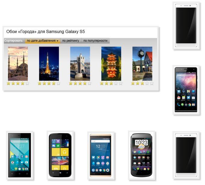 Wallpaper phone Highscreen