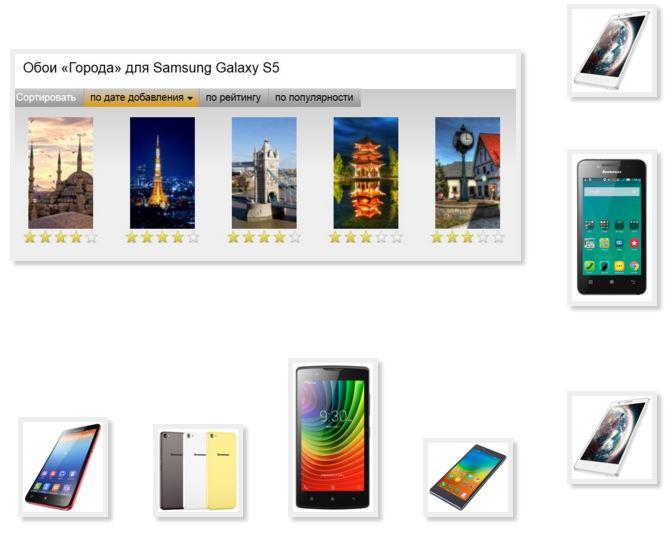 Wallpaper phone Lenovo