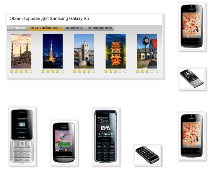 Wallpaper phone Philips