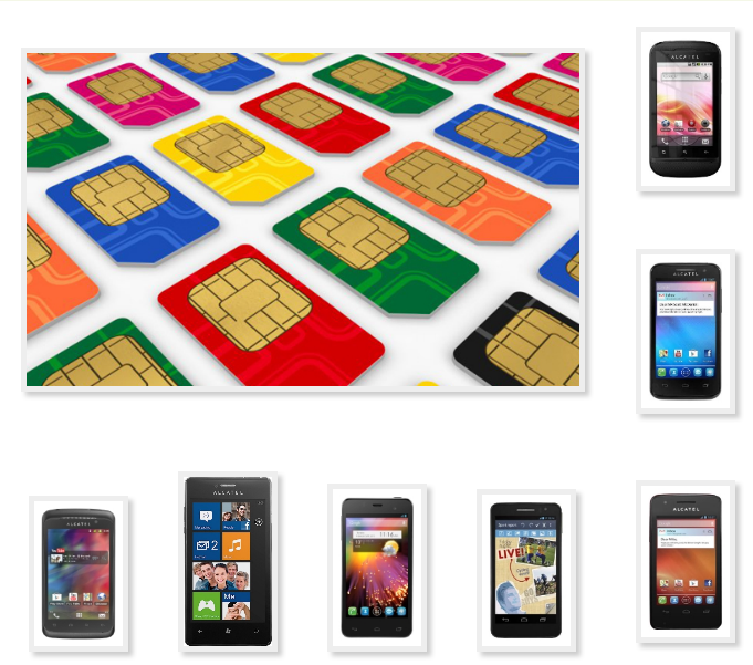 Phone Alcatel copy to transfer to contact Sim card