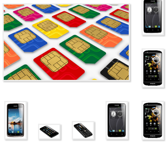 Phone Philips copy to transfer to contact Sim card
