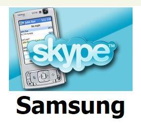 download free skype on phone Samsung
