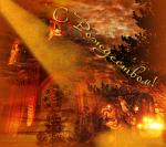 Picture postcard mms большая церковь, рождественский сюжет, луч света с неба happy birthday