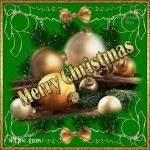Picture postcard mms позолоченные шарики для елки на ветках happy birthday