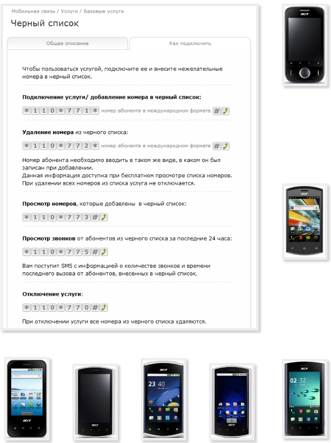 Программа для просмотра контактов телефона acer