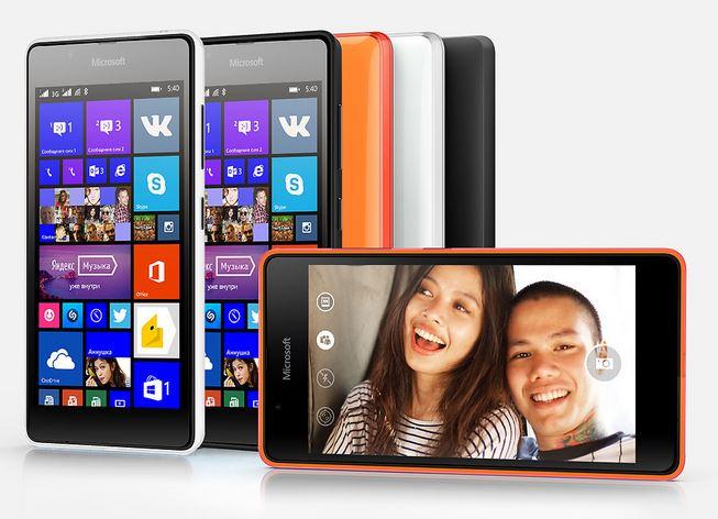 new phone Lumia 540