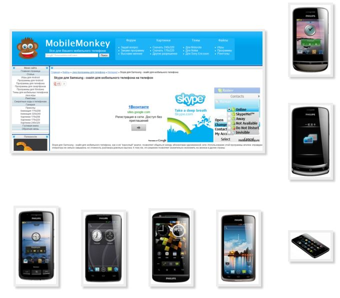 Different versions skype your phone Philips