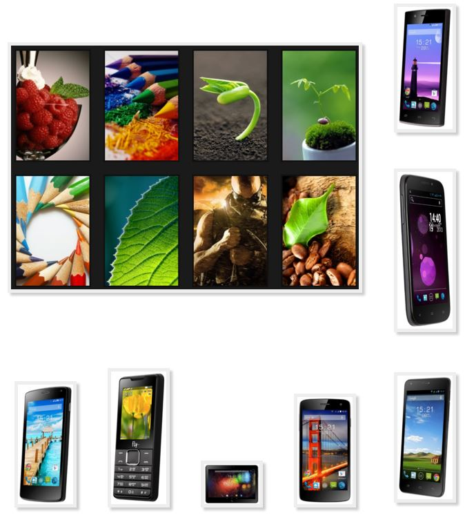 Cool picter site phone Fly