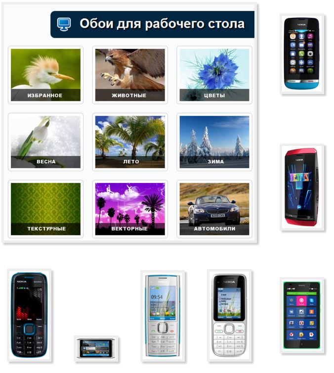 Pictures phone Nokia download free without registration advertising