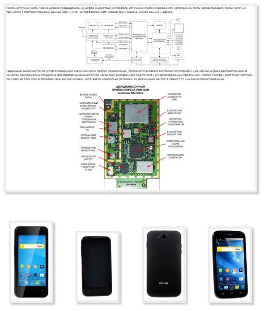 Схема сервис телефона