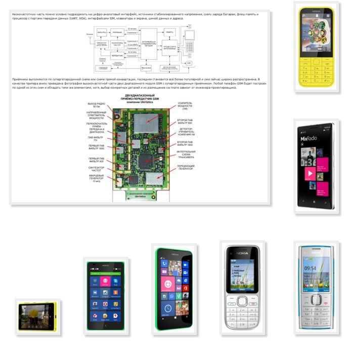 Схема сотового телефона нокиа фото 570