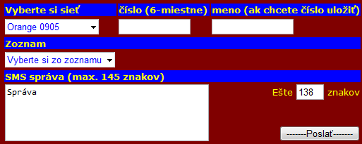 Send an sms to a computer for free Smsky - Slovakia