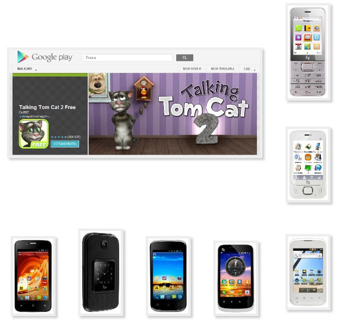 Игра на планшет говорящий кот скачать