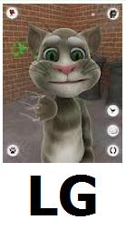Скачать бесплатно игру говорящий кот том на телефон lg optimus l7.