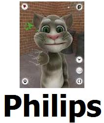 Soft Game Tom Cat phone Philips w732