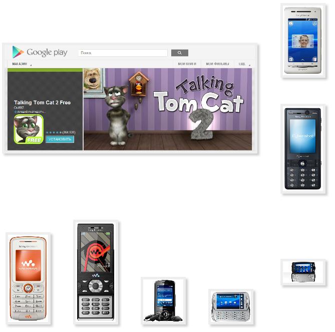 Инструкция для загрузки игры в телефон сониэриксон