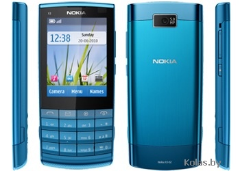 Nokia x3 02 characteristics photos, buy