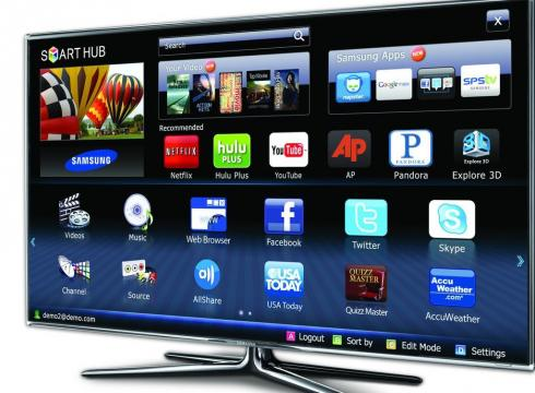 register your TV Samsung Smart TV in apps