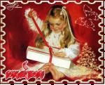 mms postcard christmas